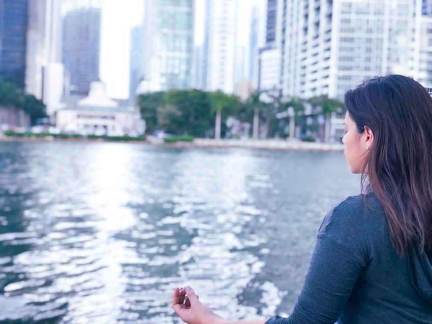 meditando en 3 pasos