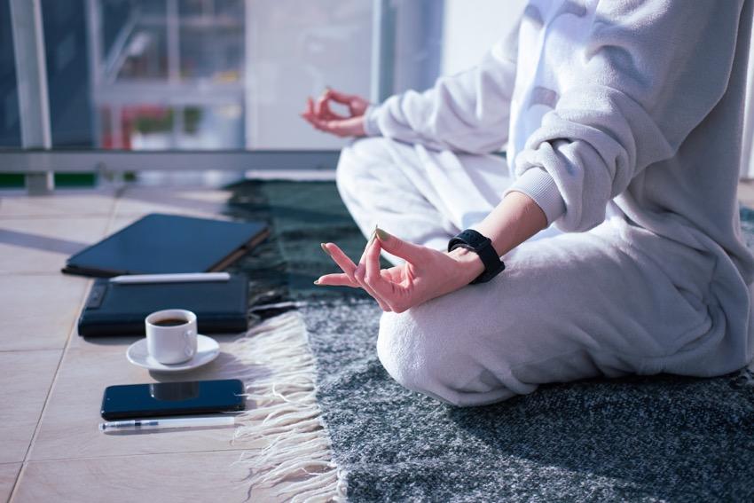 la meditación como un hábito
